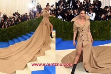 Priyanka Chopra's Met Gala 2017 Look In Ralph Lauren's Longest Trench Coat Is Stunner Amongst All