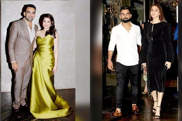 PICS: Zaheer Khan, Sagarika Ghatge Are Officially Engaged; Virat & Anushka, Yuvraj, Rohit Sharma & Others Attended