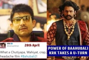After Slamming Baahubali 2, Kamaal R Khan Apologizes To Baahubali Director SS Rajamouli. WHY?