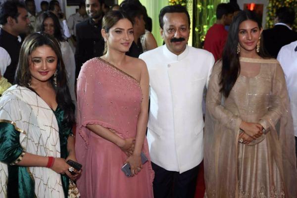 Ankita Lokhande at Baba Siddique's Iftar Party