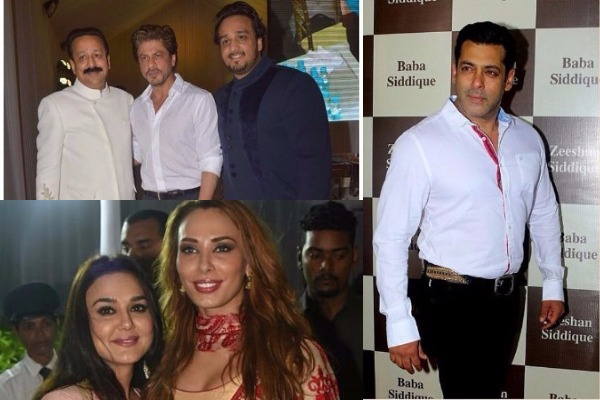 Inside Pics: Shah Rukh Khan, Salman Khan, Iulia Vantur and Others Attend Baba Siddique's Iftar Party