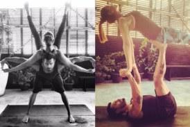Bipasha Basu Shares Some Lovey-Dovey Yoga Poses With Karan Singh Grover On International Yoga Day!
