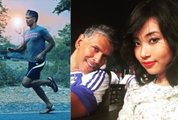 In PICS: India's Iron Man Milind Soman In Love Again And Is Dating A Girl Half His Age!