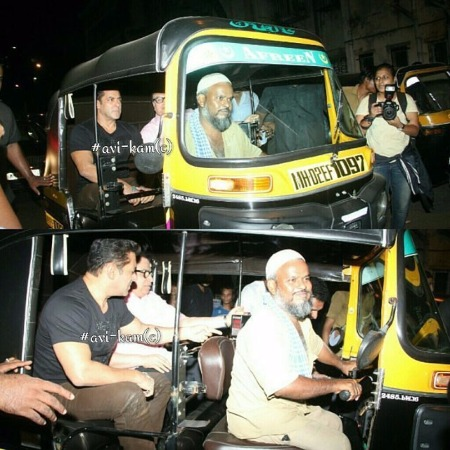 Salman Khan Tubelight in auto