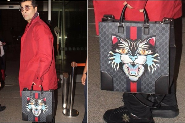 Oh Man! Karan Johar's Luxury Gucci Bag and It's Pricey Tag Will Blow Your Mind!