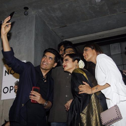 Manish Malhotra, Rekha, Shilpa Shetty Kriti Sanon Jackie Shroff attend Jitesh Birthday Bash