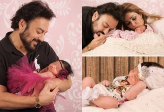PHOTOS: Singer Adnan Sami Shares The Cutest Pictures Of New Born Daughter Medina
