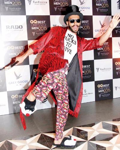 Birthday Special Ranveer Singh wore wackiest outfits
