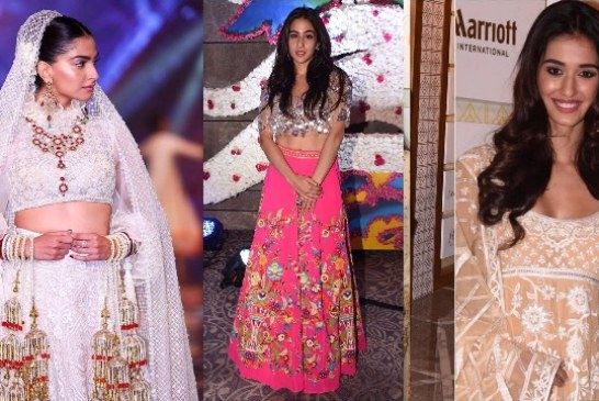 Sonam Kapoor Stunning Ramp Walk As Showstopper Bride For Abu Jani Sandeep Khosla's Wedding Collection!