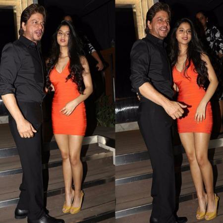 SRK Suhana Khan Pics