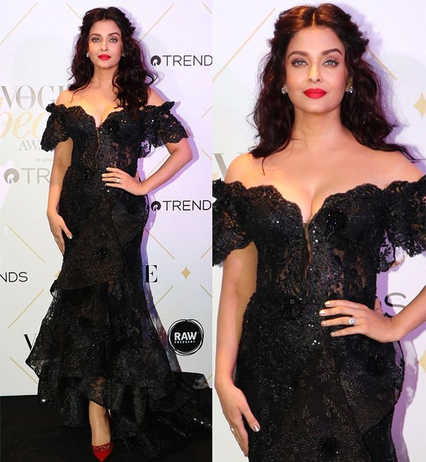 Aishwarya Rai at Vogue Beauty Awards 2017