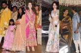 Bachchan Family, SRK, Priyanka Chopra, Deepika-Ranveer At Ambani's Ganesh Chaturthi Celebrations In Desi Style!