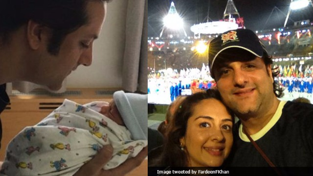 Actor Fardeen Khan, Wife Natasha Welcome Second Child ...