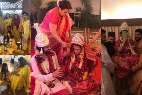 Photos: Riya Sen Marries Longtime Boyfriend Shivam Tewari, Pregnancy The Reason?