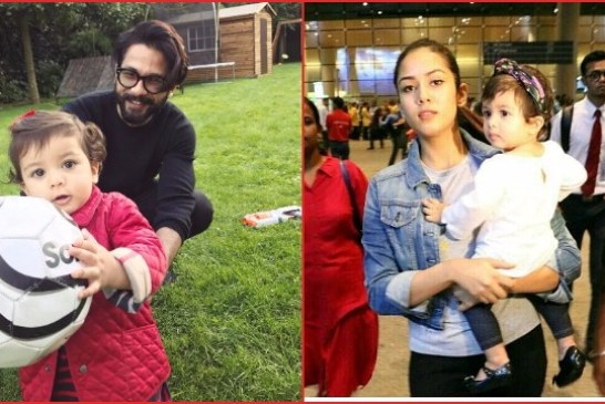 Shahid Kapoor Shares Adorable Picture Of Baby Misha From Their First Holiday!