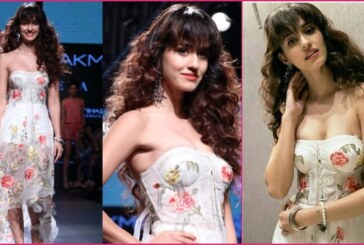 Lakme Fashion Week '17: Show Stopper Disha Patani Looks Vibrant In Ritu Kumar's Ensemble