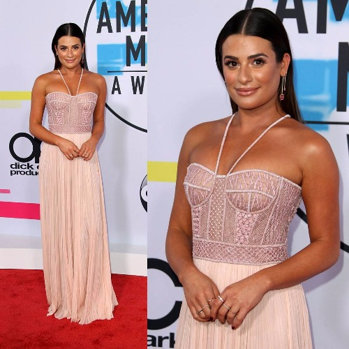 Lea Michele American Music Awards 2017