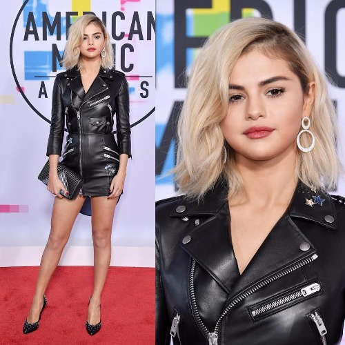 Selena Gomez at American Music Awards 2017