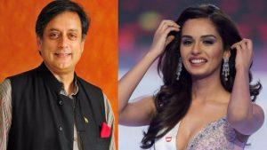 Miss World Manushi Chhillar's Classic Response To Shashi Tharoor