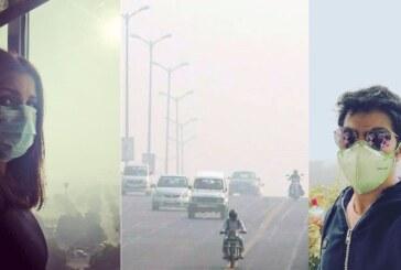 Varun Dhawan, Parineeti Chopra, Arjun Kapoor Share Videos Of Delhi Smog Urging To Save Planet