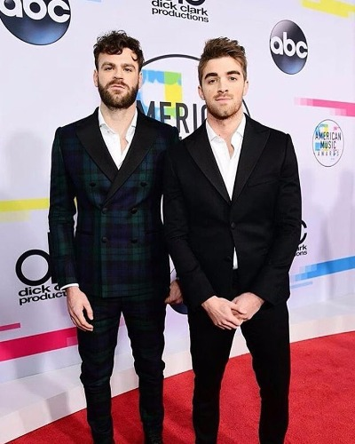 The Chainsmokers at American Music Awards 2017