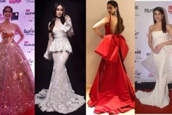 Miss World Manushi Chhillar, Sonam Kapoor, Kareena Kapoor, Deepika Glitter At Filmfare Glamour & Style Awards 2017