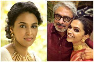 Swara Bhaskar Slams Sanjay Leela Bhansali