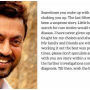Irrfan Khan rare disease