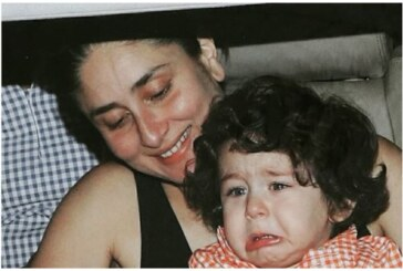 We Bet Kareena Kapoor Khan's Son Taimur's Teary Eyed Pictures Will Steal Your Hearts!