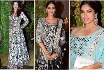 Watch Sara Ali Khan & KJo Dance; Aishwarya Rai To Sonam Kapoor At Wedding Reception