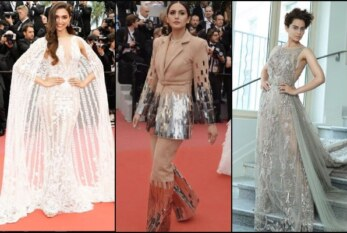 Deepika Padukone, Kangana Ranaut & Huma Qureshi's Red Carpet Look From Cannes Film Festival