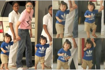 Not Just Taimur's Summer Bun Hairstyle, His Poses For Shutterbugs Are Also Cute; See Pics