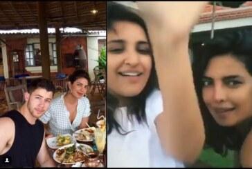 From Brunch to Rain Dance; Priyanka Chopra, Nick Jonas and Parineeti's Goa Diaries