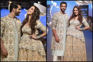 Pregnent Neha Dhupia Lakme Fashion Week 2018