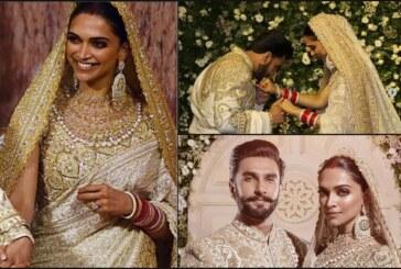 Deepika Padukone – Ranveer Singh's Mumbai Reception Attire Is Royal and Classy: See Videos