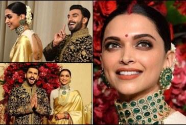Ranveer Singh, Deepika Padukone Arrive Like A Royal Couple At Wedding Reception in Bengaluru
