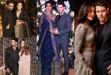 Deepika-Ranveer, Shahid-Mira, Kangana, Janhvi, Sara at Priyanka-Nick Wedding Reception