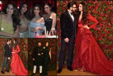 Deepika Padukone-Ranveer Singh Call Entire Bollywood Under One Roof Bcoz Abhi To Party Shuru Hui Hai