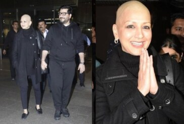 Taking A Happy Break From Her Cancer Treatment, Sonali Bendre Returns Home To Mumbai