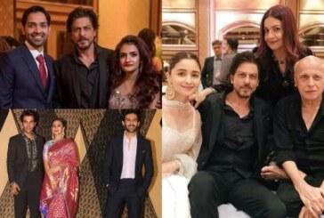 Bachchan, Khans, Akshay, Ranveer Attend Mukesh Bhatt's Daughter Sakshi's Wedding Reception