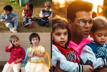 PICS: Taimur, Misha Kapoor, AbRam At Karan Johar's Twins Yash & Roohi's Second Birthday Party